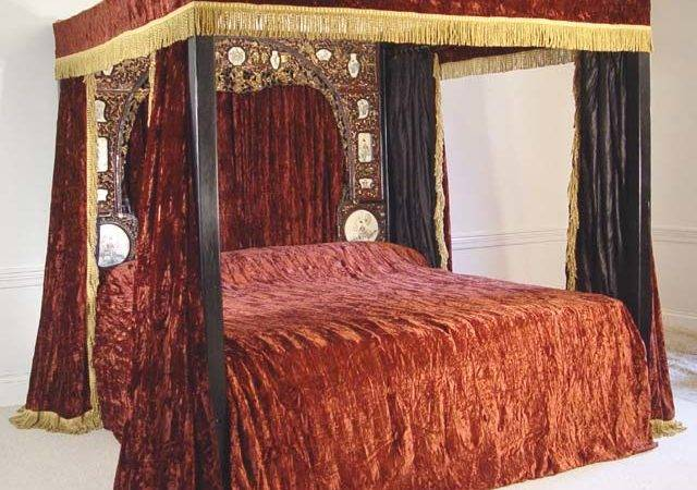 Bed Canopy Curtain Drape Design