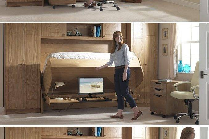 Bed Desk Combos Save Space Add Interest Small Rooms