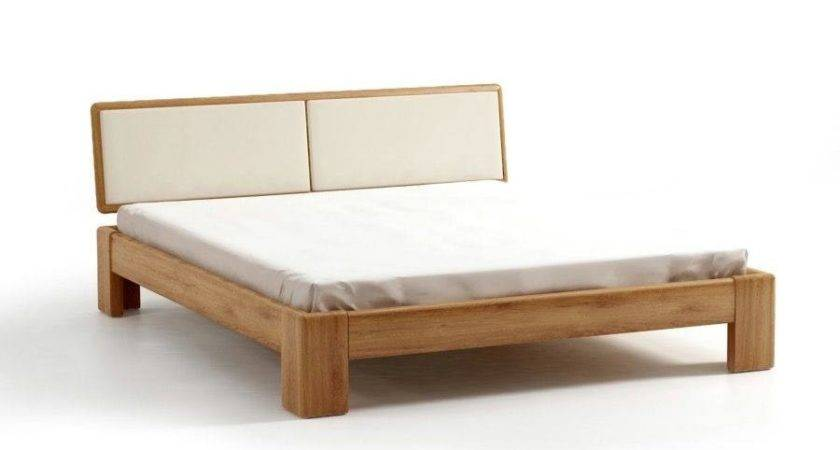 Bed Sel Oak Wooden Headrest