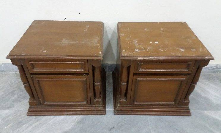 Bed Side Table Pair Used Furniture Sale