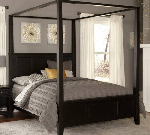 Bedford Canopy Bed Modern Beds