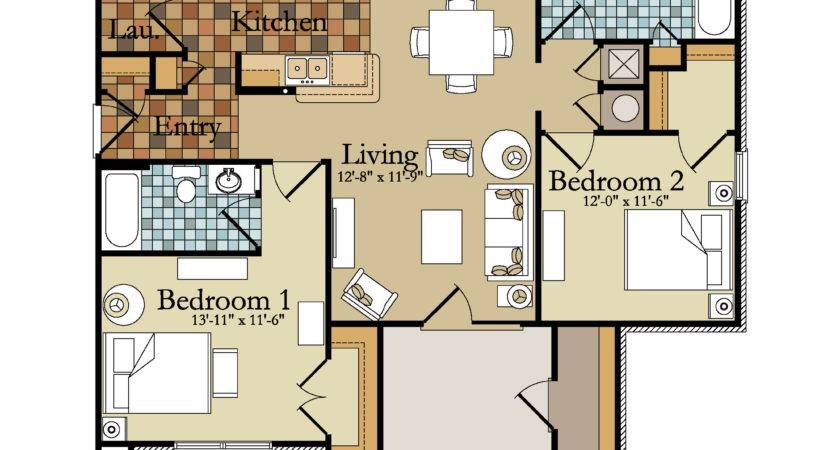 Bedroom Apartment Building Floor Plans