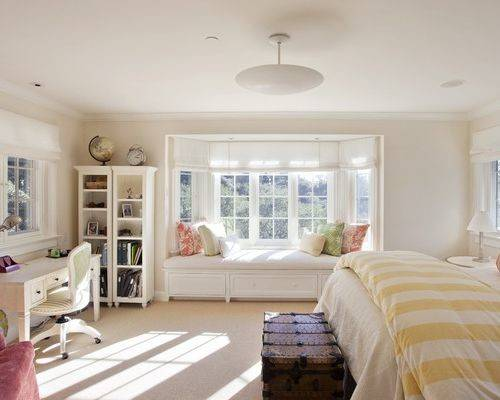 Bedroom Bay Window Home Design Ideas Remodel