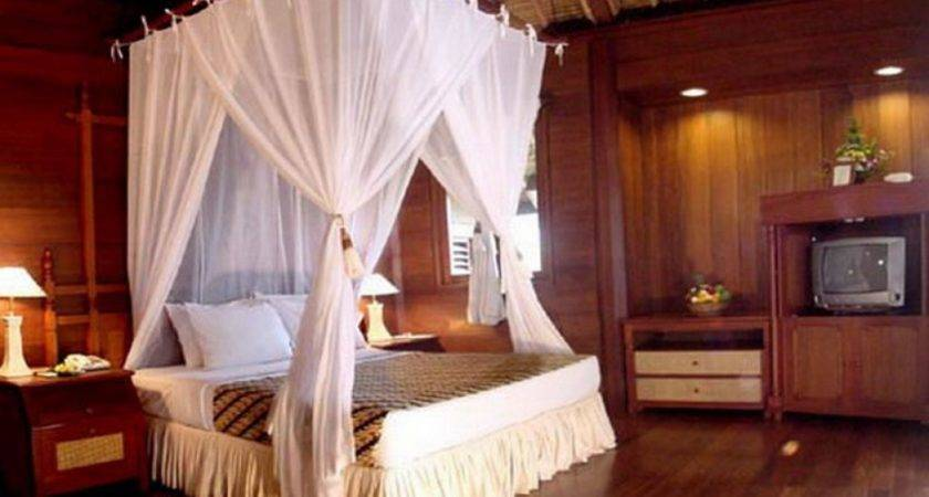 Bedroom Canopy Ideas Country Chic Decorating