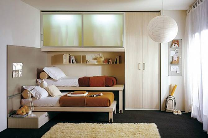 Bedroom Decorating Ideas Small Rooms Space Saving