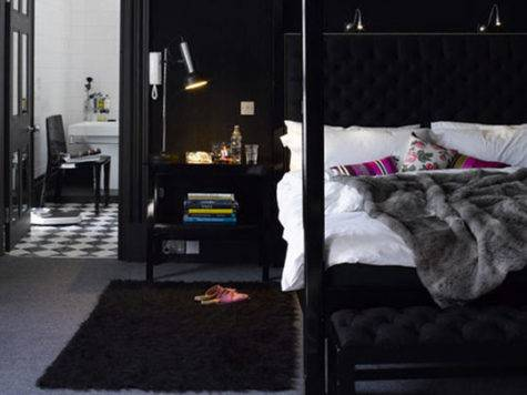 Bedroom Decoration Black Wall Art Pretty Designs