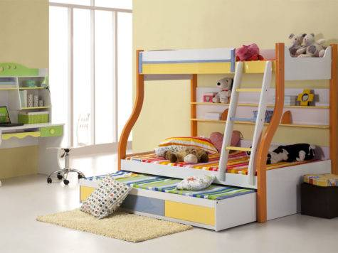 Bedroom Designs Children Bunk Beds Safety Rules