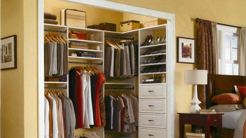 Bedroom Elfa Closet System Good Choice