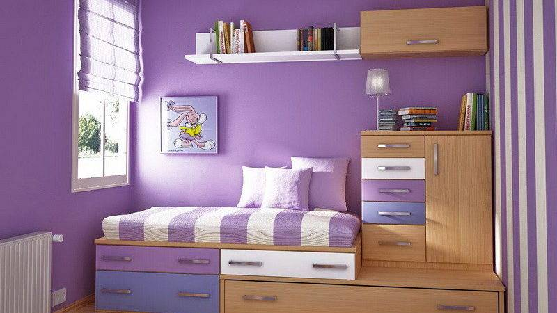Bedroom Exotic Paint Colors Purple White Combining