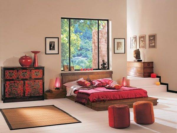 Bedroom Glamor Ideas Zen Style