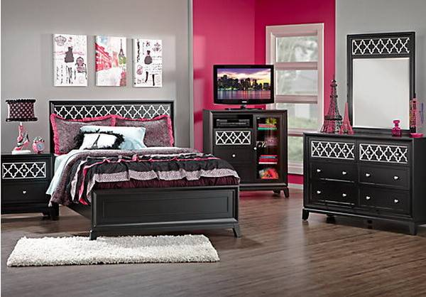 Bedroom Ideas Black Furniture Teens