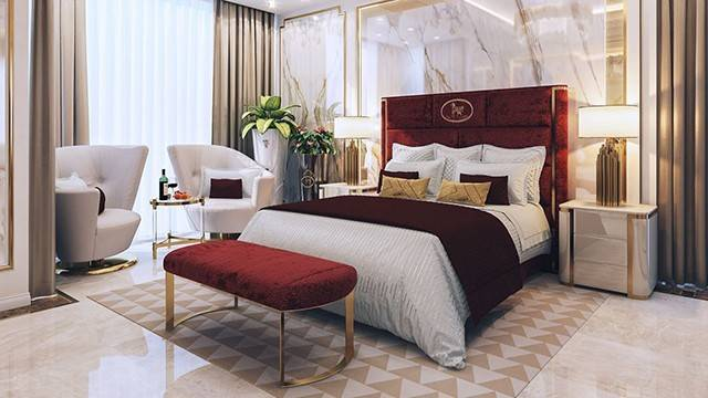Bedroom Interior Design Dubai Luxury Antonovich