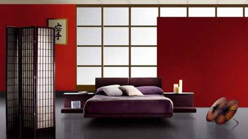 Bedroom Japanese Style Furniture Bed