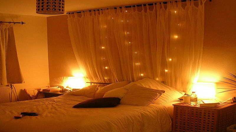 Bedroom Lighting Decoration Romantic Room Ideas