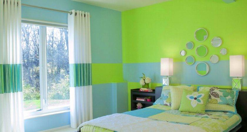 Bedroom Paint Color Shade Ideas Blue Green