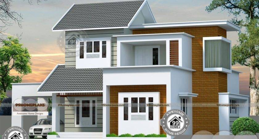 Bedroom Story House Plans Eye Catching Balcony