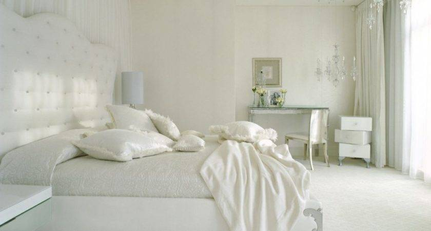 Bedroom Stunning Simple White Design