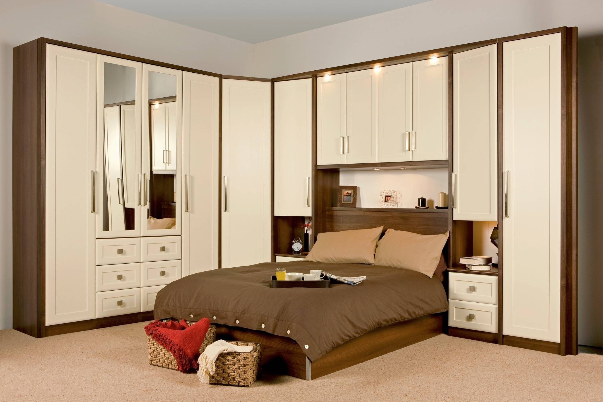 Bedroom Surprising Almirah Designs - The Inductive