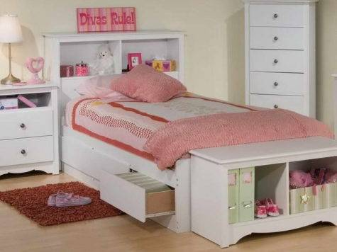 Bedroom Twin Beds Small Spaces White Cabinets