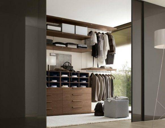 Bedroom Walk Wardrobe Men Design Olpos