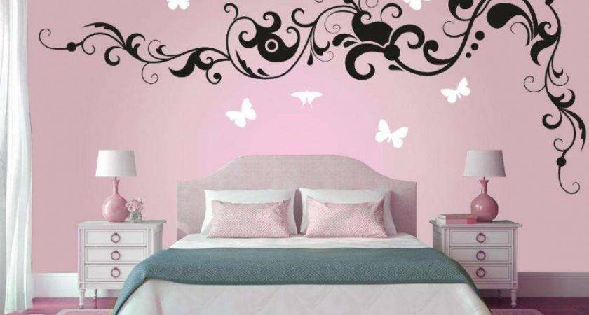 Bedroom Wall Paint Designs Formidable