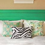 Bedroom Wall Painted Headboard Ideas Diy Decoration