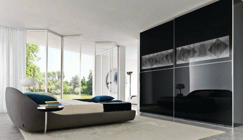 Bedroom Wardrobe Design Ideas Closet Brilliant Black