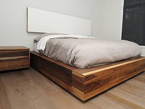 Beds Exotic Wood
