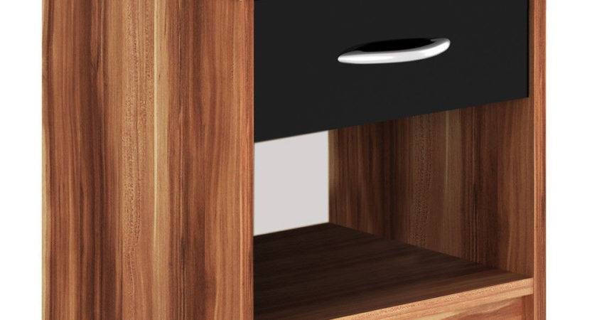 Bedside Table Storage Cabinet Chest Bedroom Night