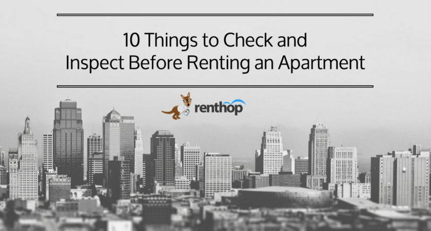 Before Renting Apartment Home Design
