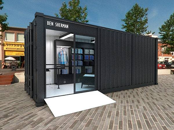 Ben Sherman Container Store Behance