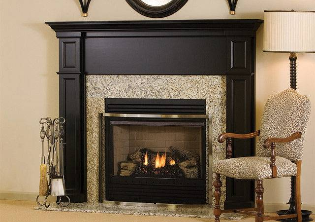 Bennington Wood Fireplace Mantel Traditional Indoor