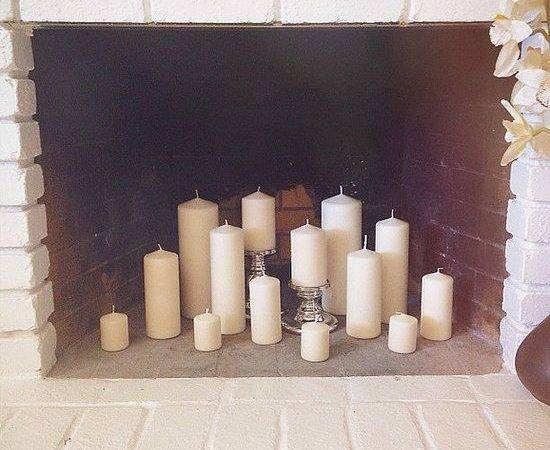Best Candle Fireplace Ideas Pinterest Fake