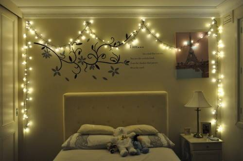 Best Christmas Bedroom Lights Decorations Ideas Teen
