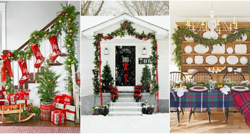 Best Christmas Garland Ideas Decorating Holiday