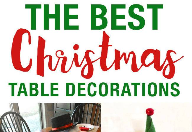Best Christmas Table Setting Decorations Holiday