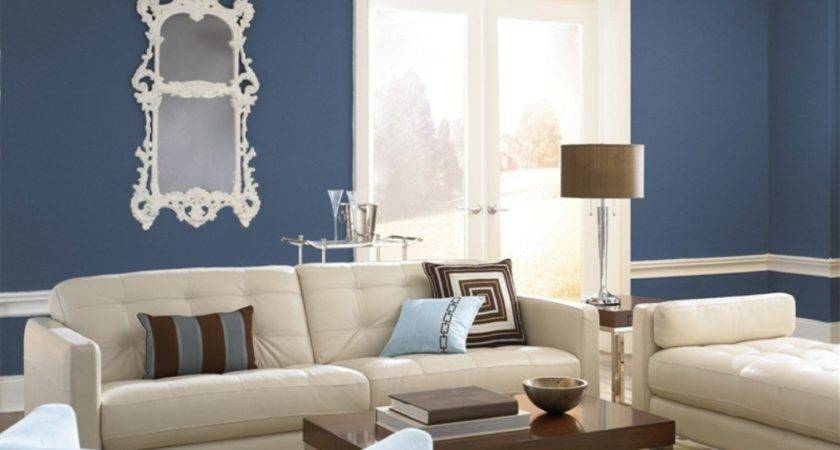 Best Color Small Living Room Modern House