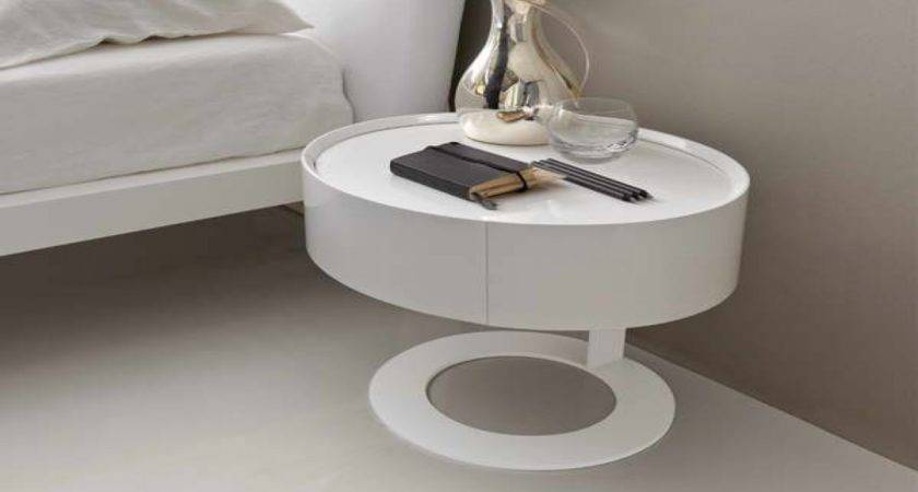 Best Cool Bedside Table Pair English Mid