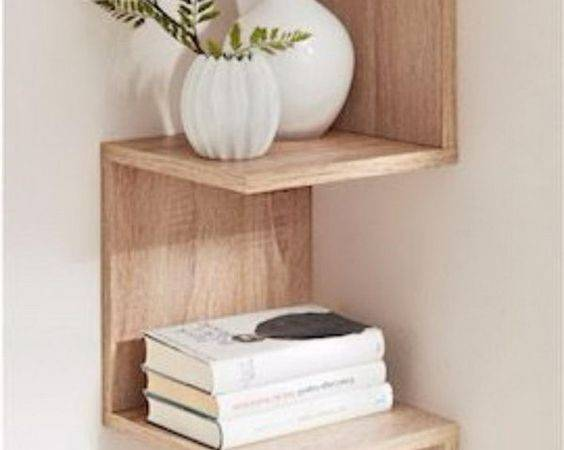 Best Corner Wall Shelves Ideas Pinterest