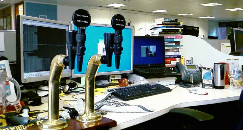 Best Desk Ever Bob Attached These Taps His