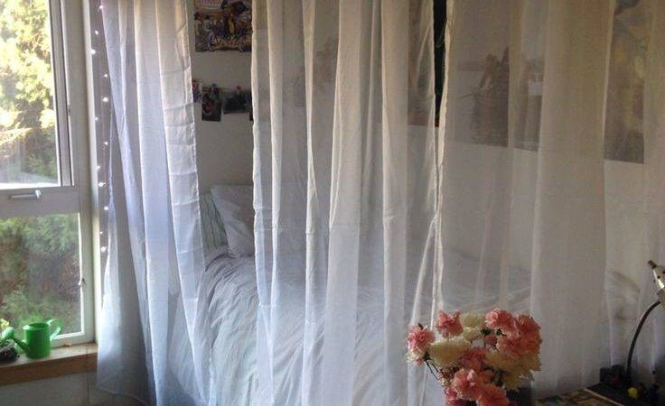 Best Dorm Room Canopy Ideas Pinterest Bed