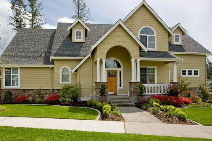 Best Exterior House Paint Color Schemes Home Decor