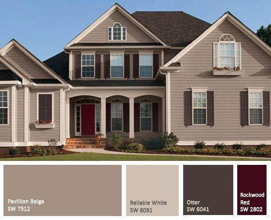 Best Exterior Paint Combinations Ideas Pinterest