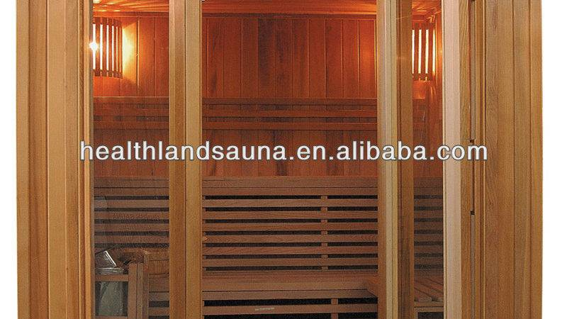 Best Finnland Steam Sauna Wood Room Hot Bathroom