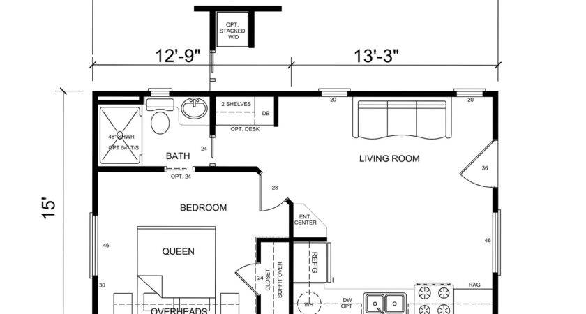 Best Floor Plans One Bedroom Small