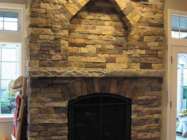 Best Fresh Fireplace Stone Work Ideas