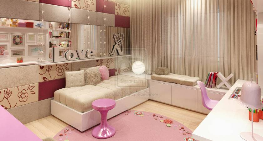 Best Girl Bedrooms World Home Decor Interior