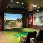 Best Golf Simulation Room Design Ideas Remodel