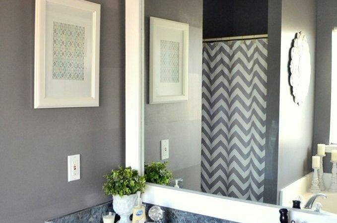 Best Ideas Framed Bathroom Mirrors Pinterest