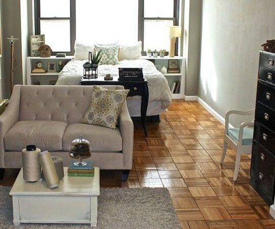 Best Layout Small Studio Apartment Room